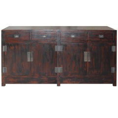 Burnt Brown Sideboard