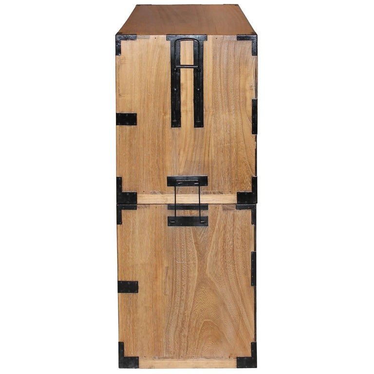 Japanese Kiriwood Clothing Chest For Sale 3
