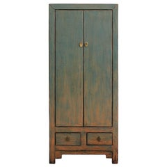 Green Two-Door Cabinet