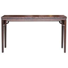 Elegant Elm Console Table