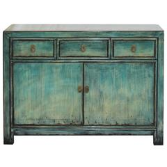 Light Blue/Green Sideboard