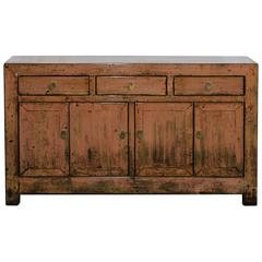 Pink Dongbei Sideboard