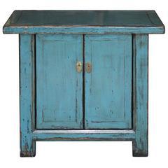 Two-Door Blue Chest