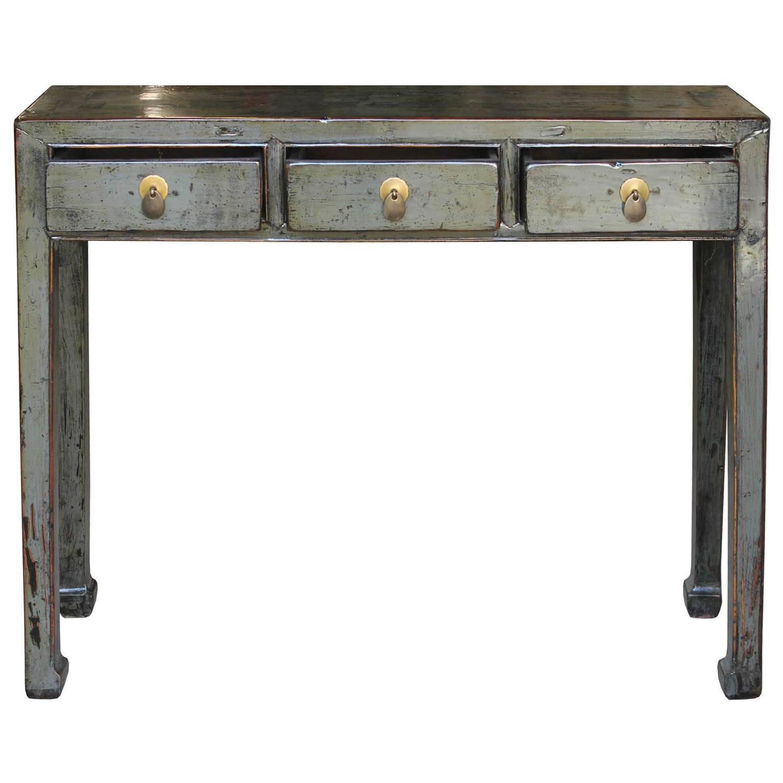 shanxi gray console table at 1stdibs