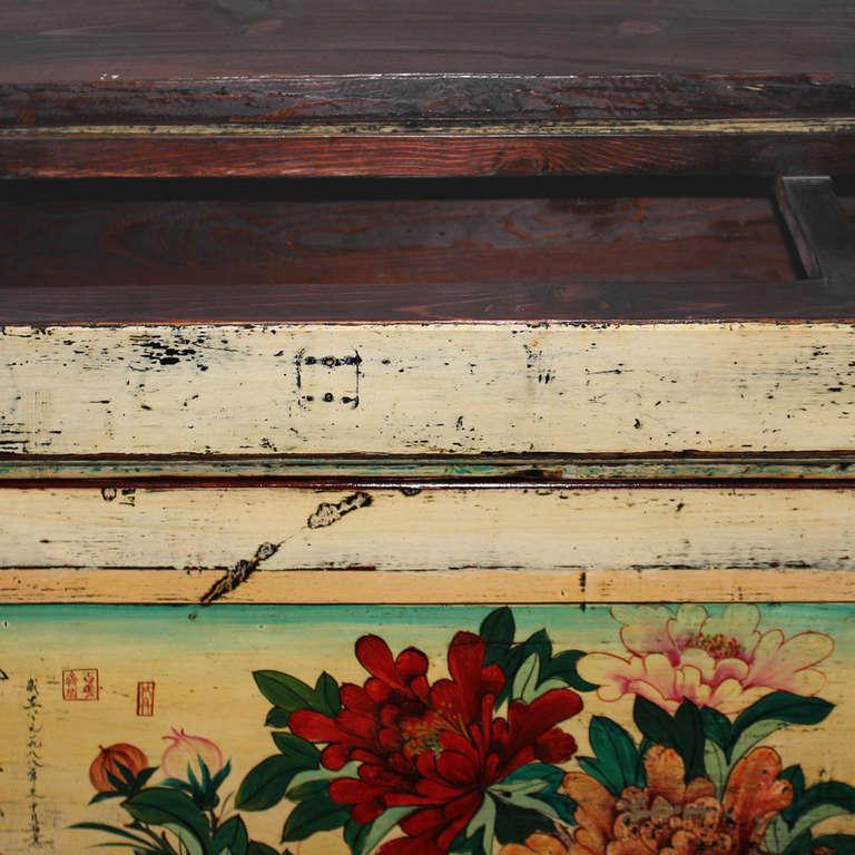 Gansu Painted Buffet For Sale 1