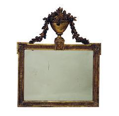 French Giltwood Overmantel Mirror, circa 1820