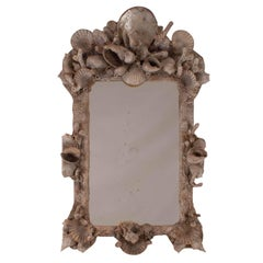 Vintage Grotto Shell Mirror Argentina, 1970
