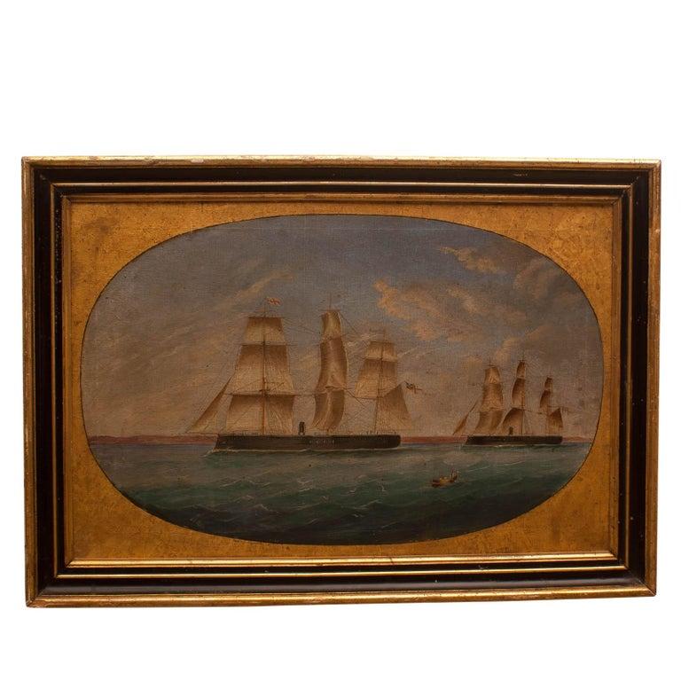 Nautical Ship Painting, circa 1890, England