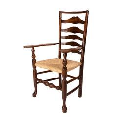 Lancashire Armchair, England, circa 1820