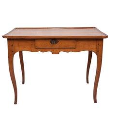 Short Louis XVI Provencal Fruit Wood Table, France, circa 1800