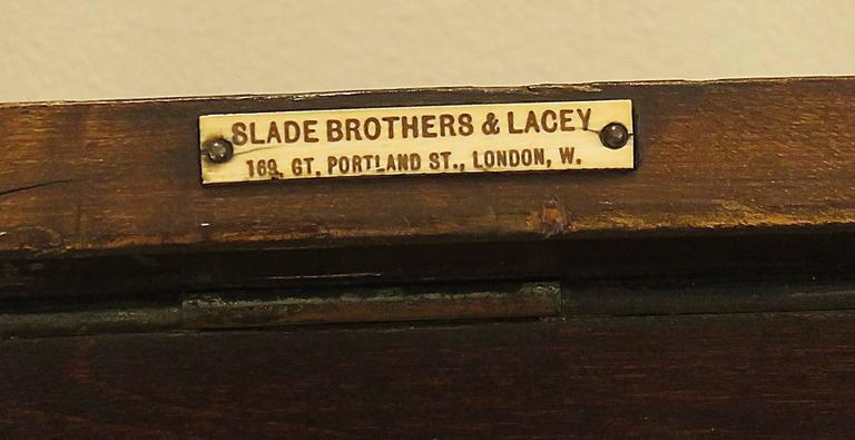 Rare English Victorian Folio Stand, circa 1880 9