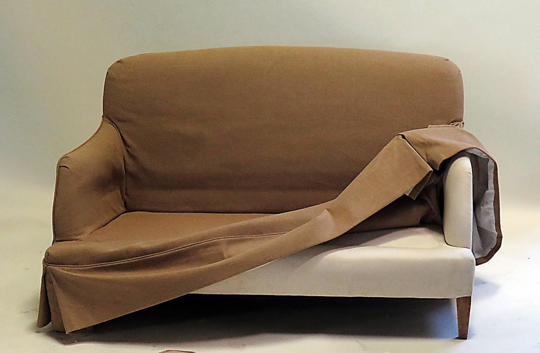 Pair Of Custom Small Sofa 39 S By Billy Baldwin Circa 1960