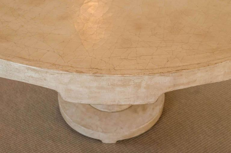 Moorish Beautiful Candace Barnes Moroccan Inspired Round Center Table For Sale