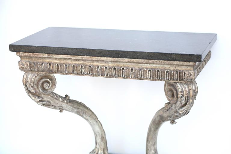 English Mid-18th Century Beautiful Period Hand Carved George II Console For Sale