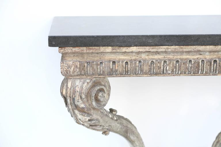 Mid-18th Century Beautiful Period Hand Carved George II Console In Good Condition For Sale In San Francisco, CA