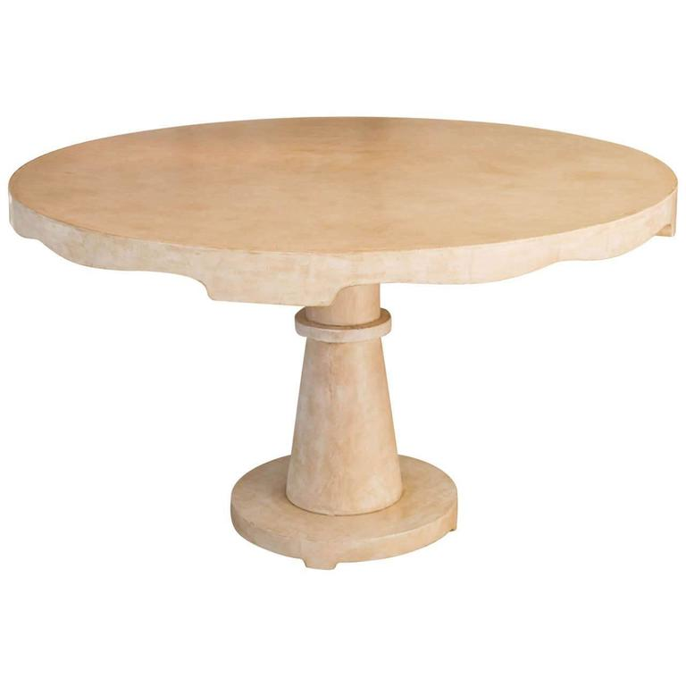 Beautiful Candace Barnes Moroccan Inspired Round Center Table