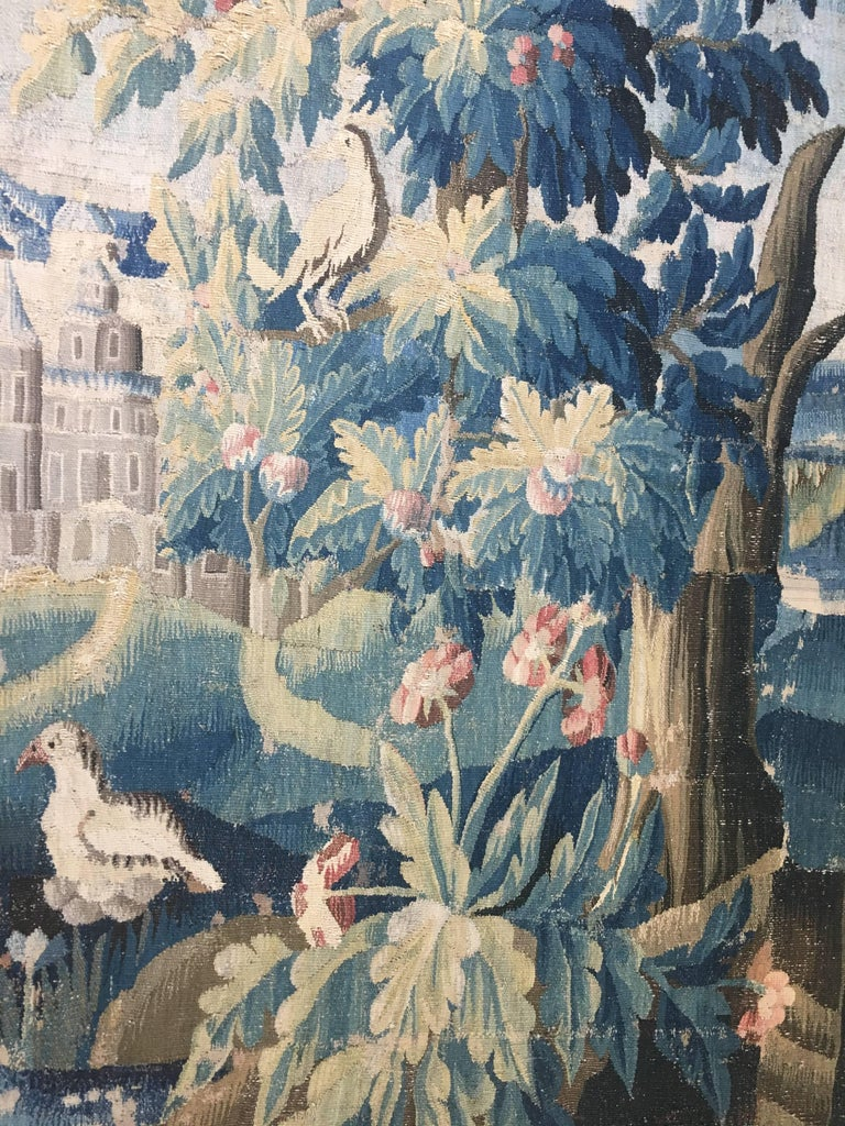 Large 18th Century French Aubusson Tapestry 7