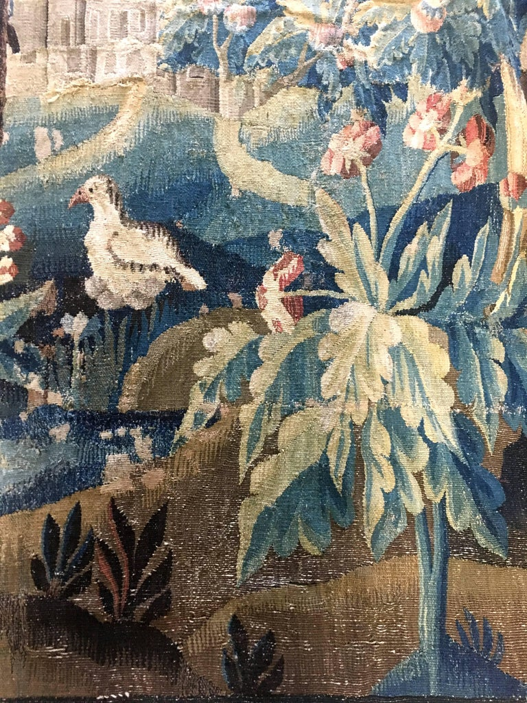 Large 18th Century French Aubusson Tapestry 4