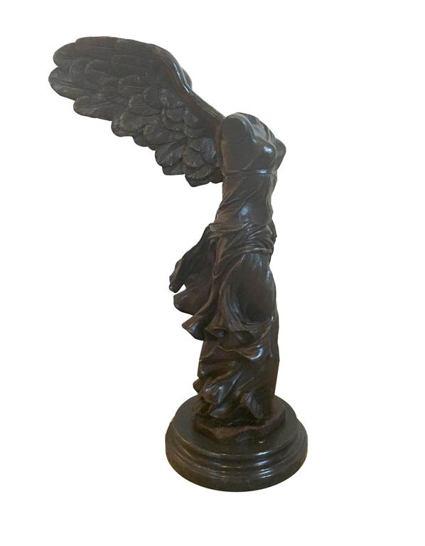 European Grand Tour Contemporary Casting of Goddess of Victory NIKE of Samothrac For Sale