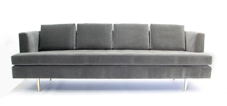 20th Century Stunning Mid-Century Dunbar Sofa by Edward Wormley in New Fabric For Sale