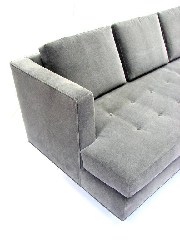 Mid-Century Modern Stunning Mid-Century Dunbar Sofa by Edward Wormley in New Fabric For Sale