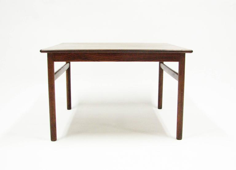 Mid-Century Rosewood Cocktail or Side Table 7