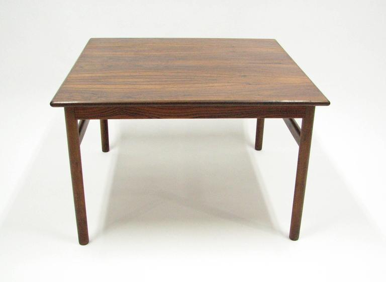 Mid-Century Rosewood Cocktail or Side Table 8