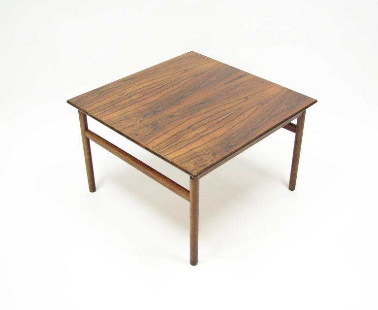 Mid-Century Rosewood Cocktail or Side Table 3