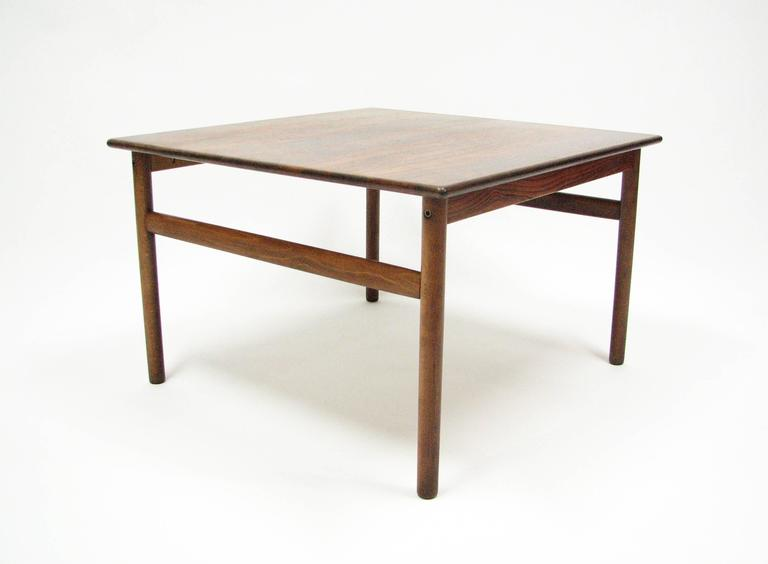 Mid-Century Rosewood Cocktail or Side Table 5