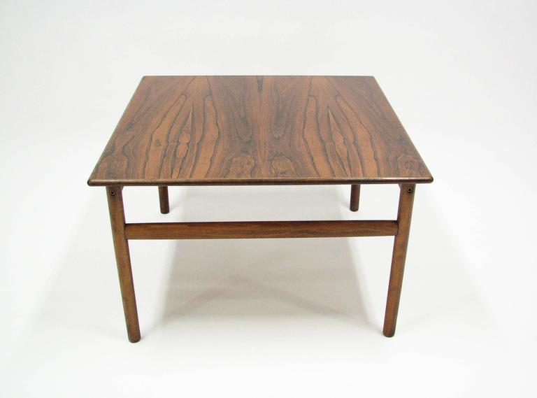 Mid-Century Rosewood Cocktail or Side Table 4