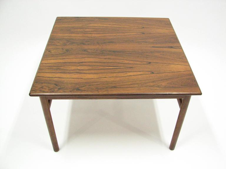 Mid-Century Rosewood Cocktail or Side Table 9