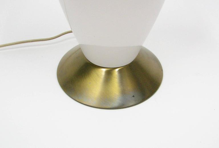 Pair of Mid-Century Ceramic Lamps For Sale 1