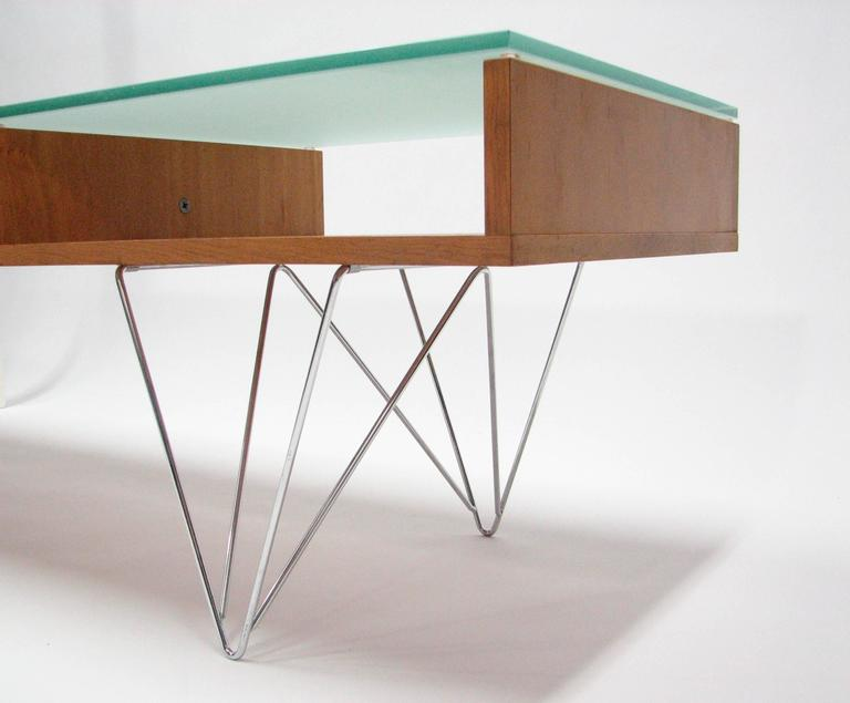 American Glass Top Cocktail Table by Bobo Modern Living For Sale
