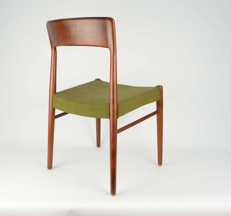 Set of Six Teak Dining Chairs by Niels Otto Møller, Model 77 5