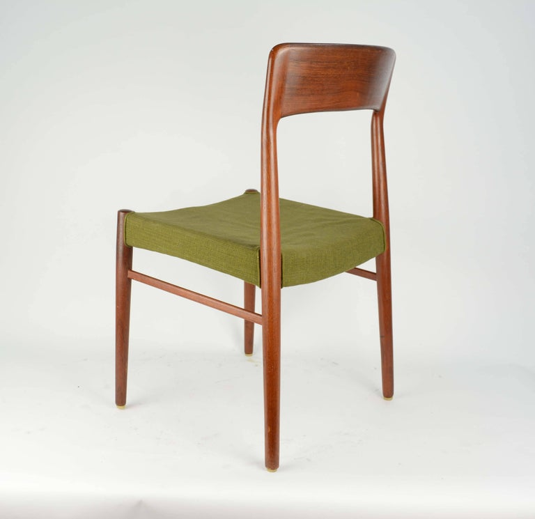 Set of Six Teak Dining Chairs by Niels Otto Møller, Model 77 6