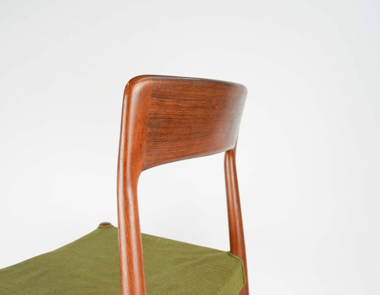 Set of Six Teak Dining Chairs by Niels Otto Møller, Model 77 8