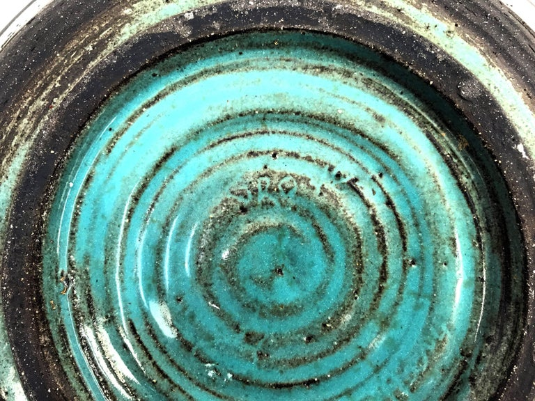 Mid-Century Ceramic Bowl by Mary Grote 8