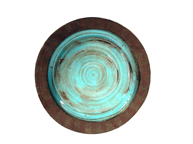 Mid-Century Ceramic Bowl by Mary Grote 6