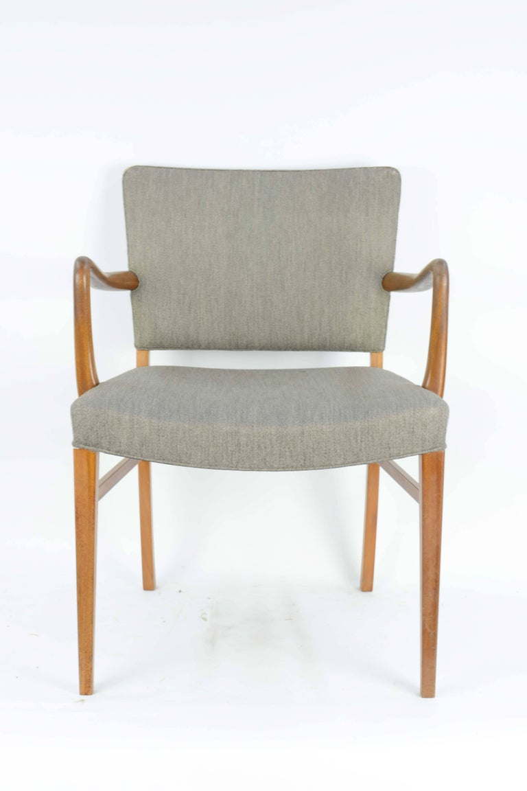 Pair of Armchairs by Ole Wanscher for A. J. Iversen 3