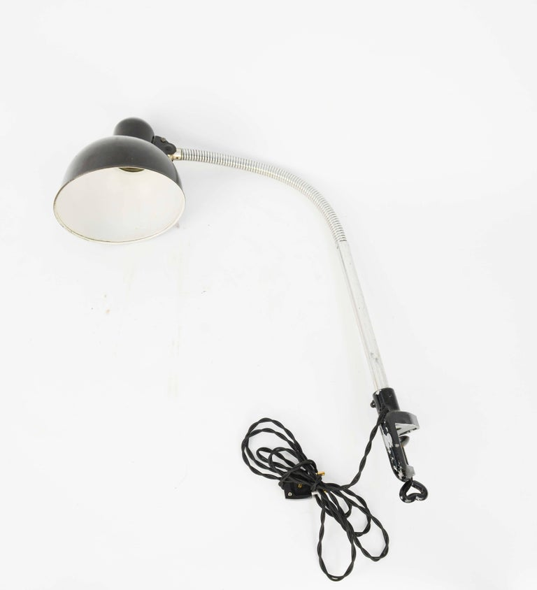 Pair of Christian Dell Architect's Clamp Desk Lamps for Kaiser of Germany 8