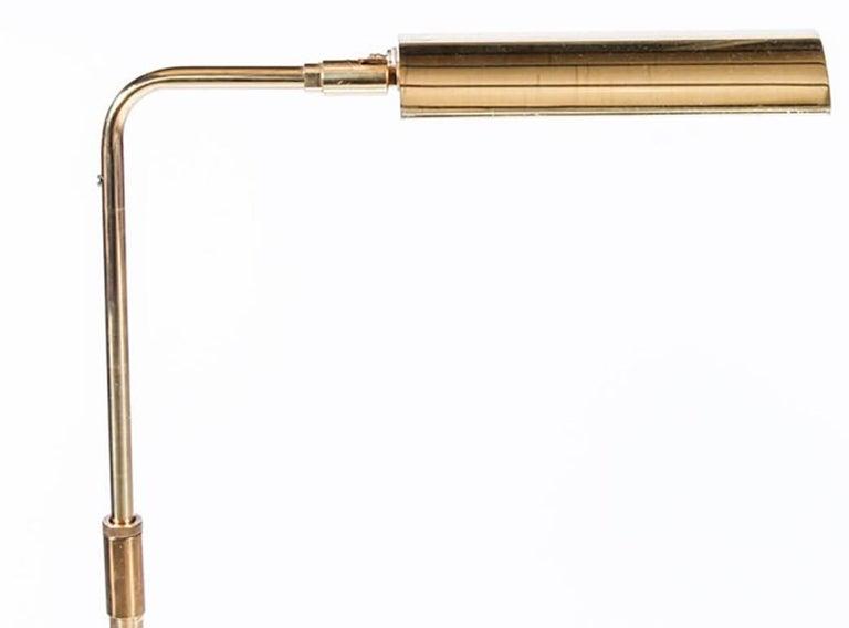 Midcentury Brass Koch and Lowy Floor Lamp 2