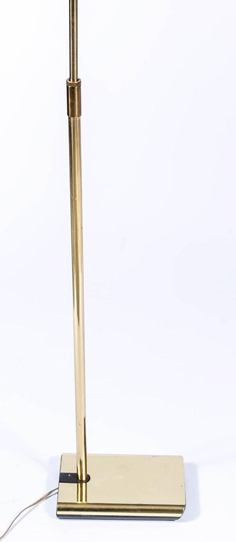 Midcentury Brass Koch and Lowy Floor Lamp 3
