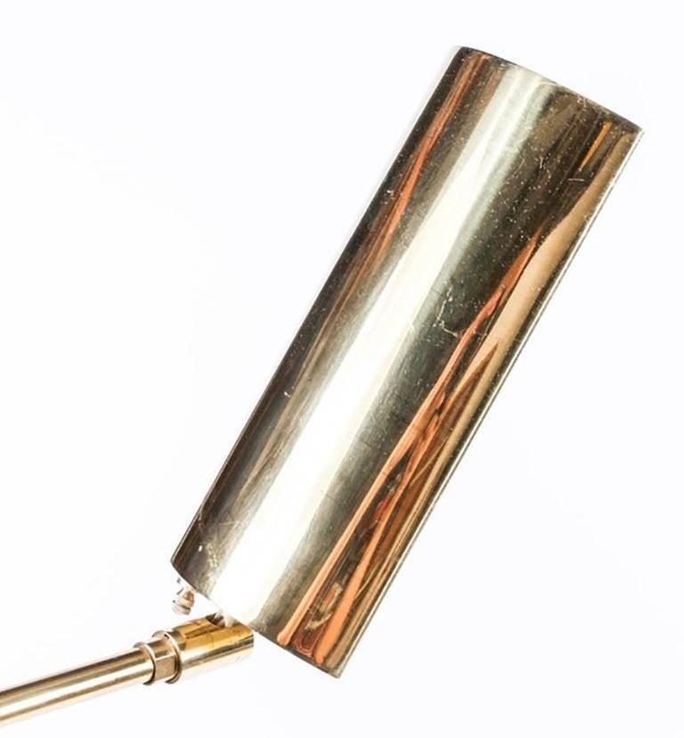 Midcentury Brass Koch and Lowy Floor Lamp 6