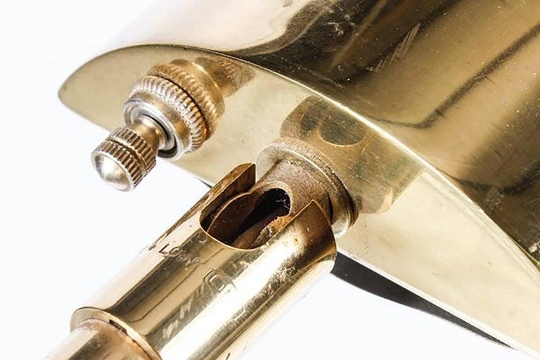 Midcentury Brass Koch and Lowy Floor Lamp 10