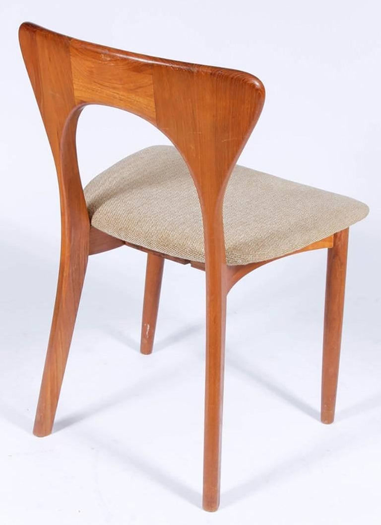 Danish Midcentury Neils Koefoed for Koefoeds Hornslet Peter Chair For Sale