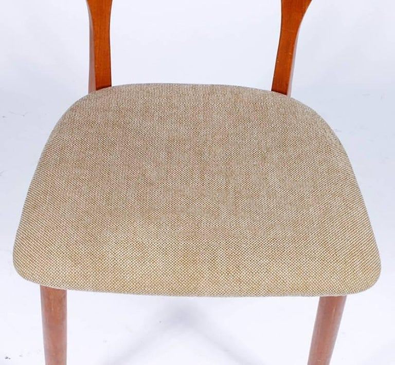 Scandinavian Modern Midcentury Neils Koefoed for Koefoeds Hornslet Peter Chair For Sale