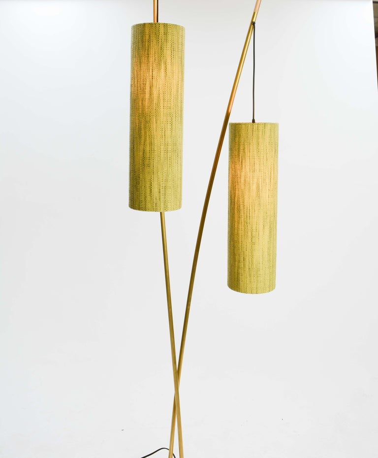 American Expansive and Elegant Floor Lamps by Lighting Artisan Jamie Violette For Sale