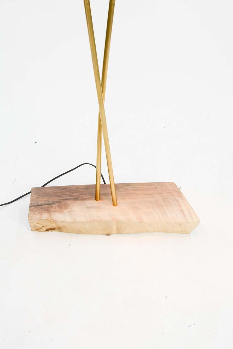 Copper Expansive and Elegant Floor Lamps by Lighting Artisan Jamie Violette For Sale