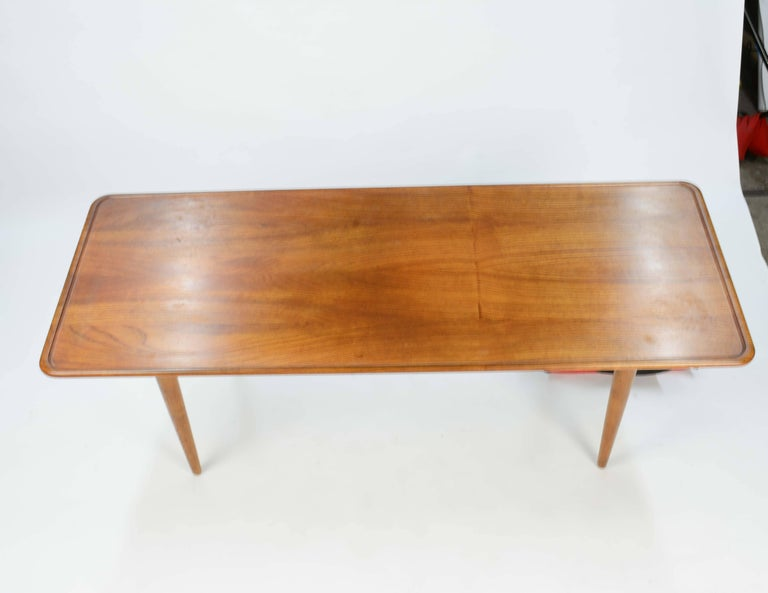 Mid-20th Century Hans Wegner's Curved Edge Coffee Table for Andreas Tuck of Denmark For Sale