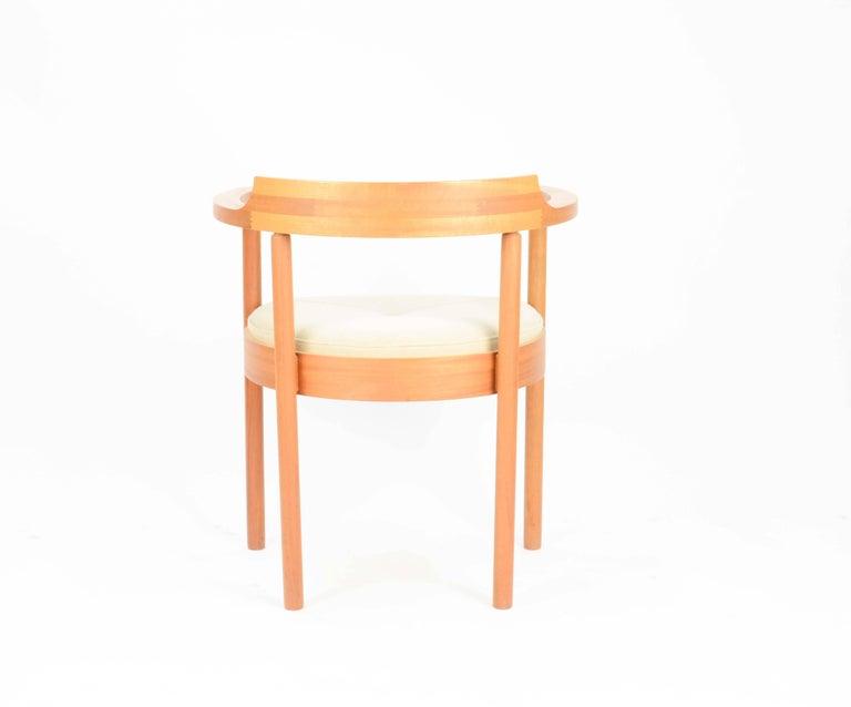 Oak Set of Six Spectacular Henning Jensen & Torben Valeur Armchairs for Munch For Sale